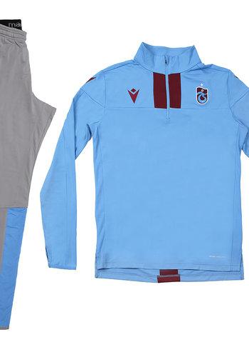 Trabzonspor Macron Trainingsanzug Blau
