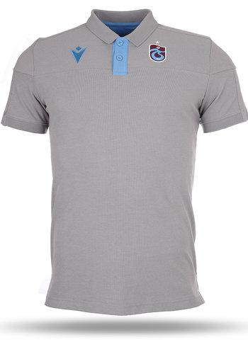 Trabzonspor Macron Polo T-Shirt D'entraînement Gris
