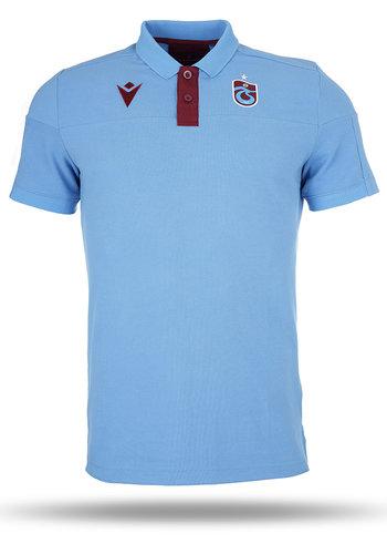 Trabzonspor Macron Training Polo T-Shirt Blauw