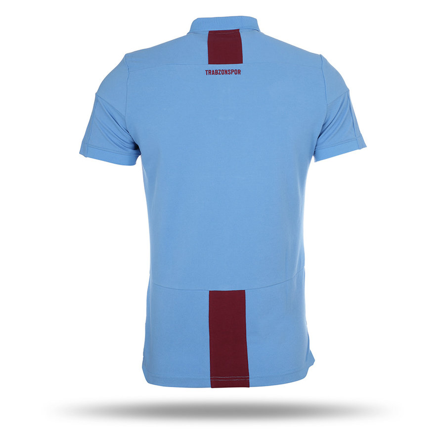 Trabzonspor Macron Training Polo T-Shirt Blauw