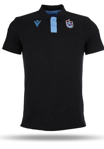 Trabzonspor Macron Training Polo T-Shirt Schwarz
