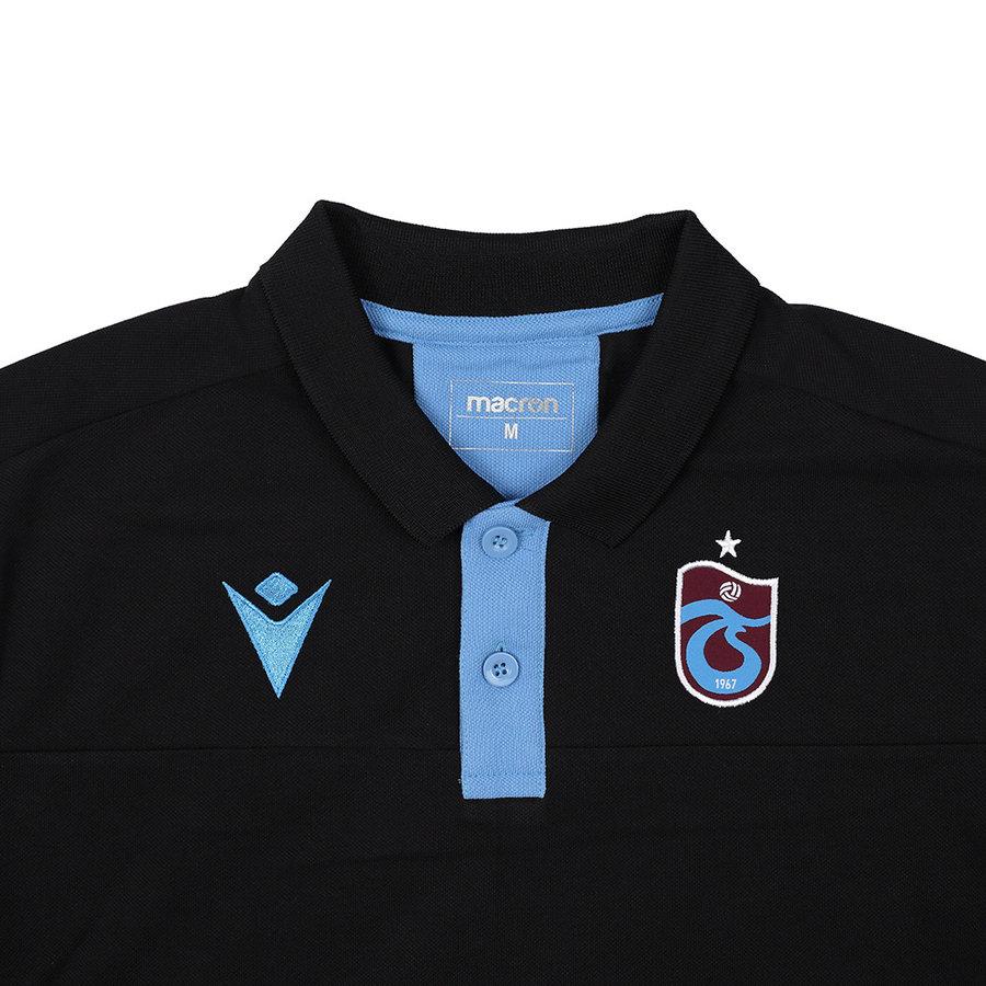 Trabzonspor Macron Training Polo T-Shirt Zwart