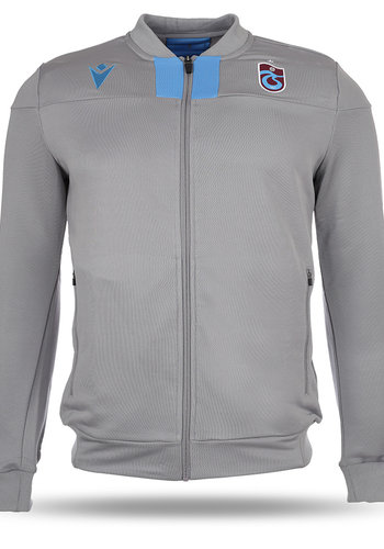 Trabzonspor Macron Training Jacket Grey
