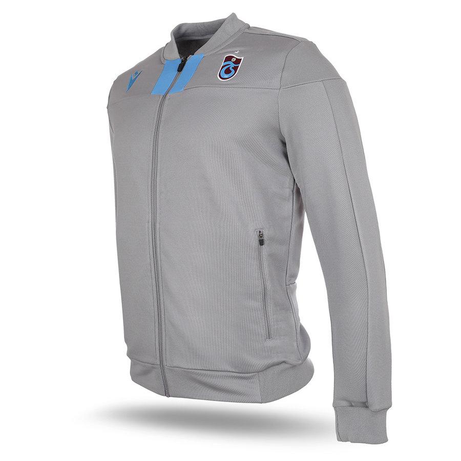 Trabzonspor Macron Training Jacket Grey