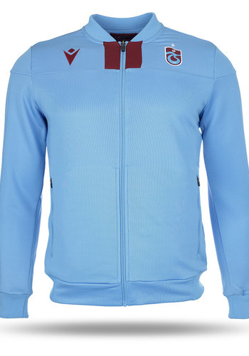 Trabzonspor Macron Training Jacket Blue