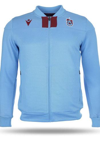 Trabzonspor Macron Trainingsjacke Blau