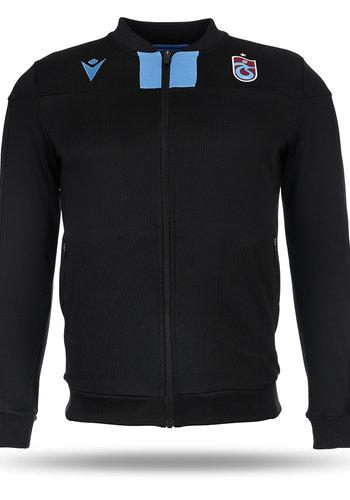 Trabzonspor Macron Training Jacket Black