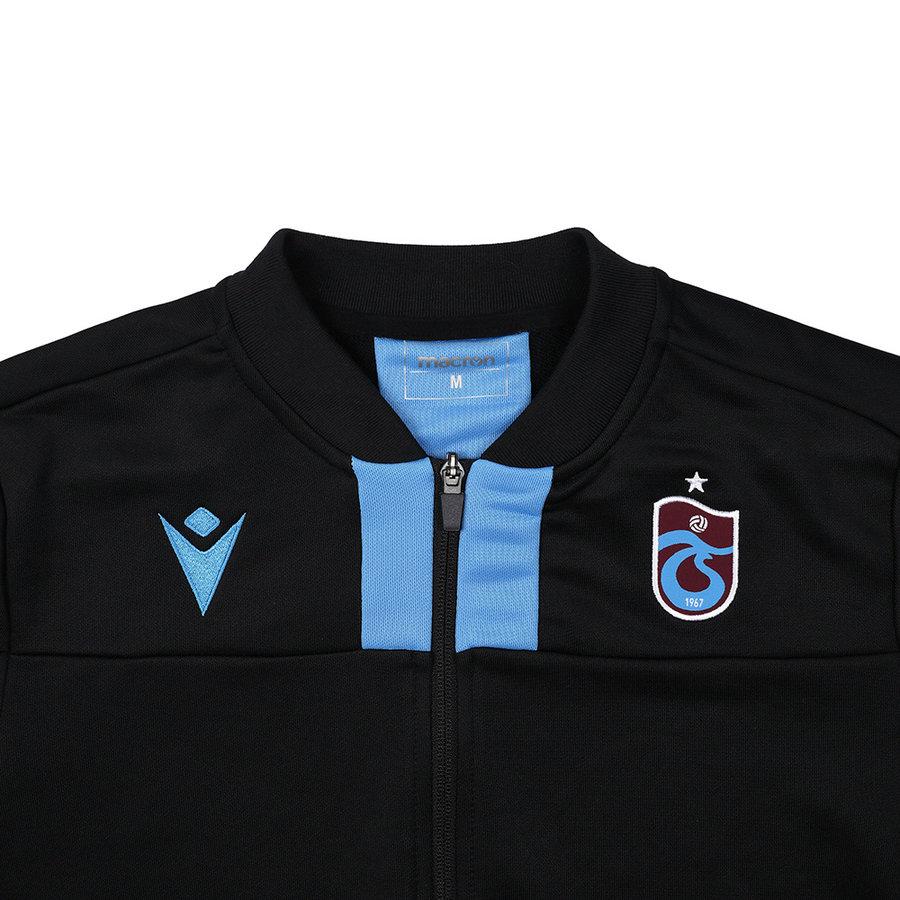 Trabzonspor Macron Trainingsjacke Schwarz