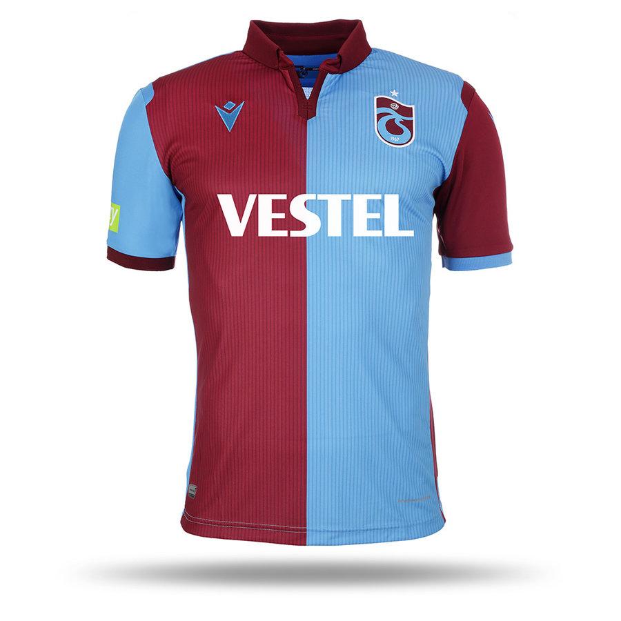 Trabzonspor Macron Shirt Burgundy Blue