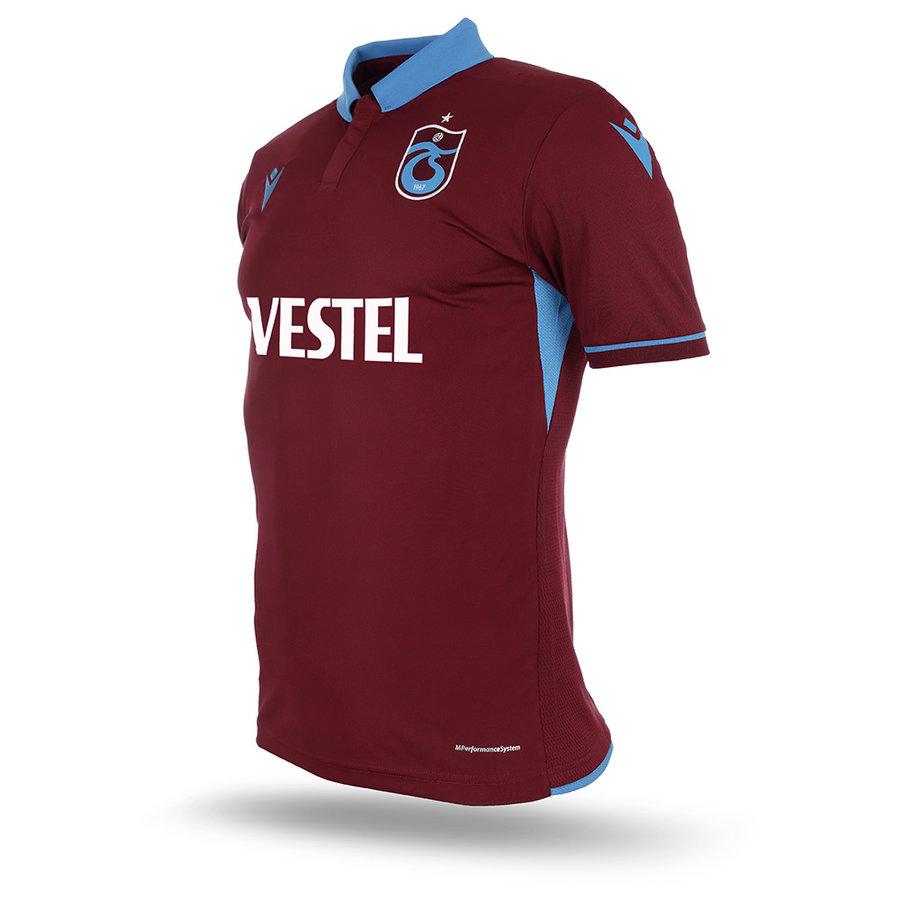 Trabzonspor Macron Shirt Burgundy