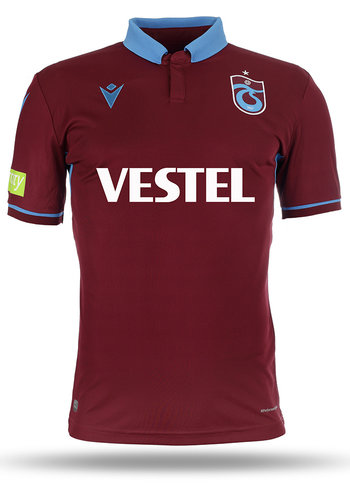 Trabzonspor Macron Shirt Kinderen Bordeaux