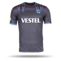 Trabzonspor Macron Shirt Kinderen Grijs