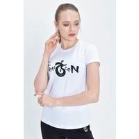 Trabzonspor Womens  T-Shirt  'Bize Her Yer Trabzon'