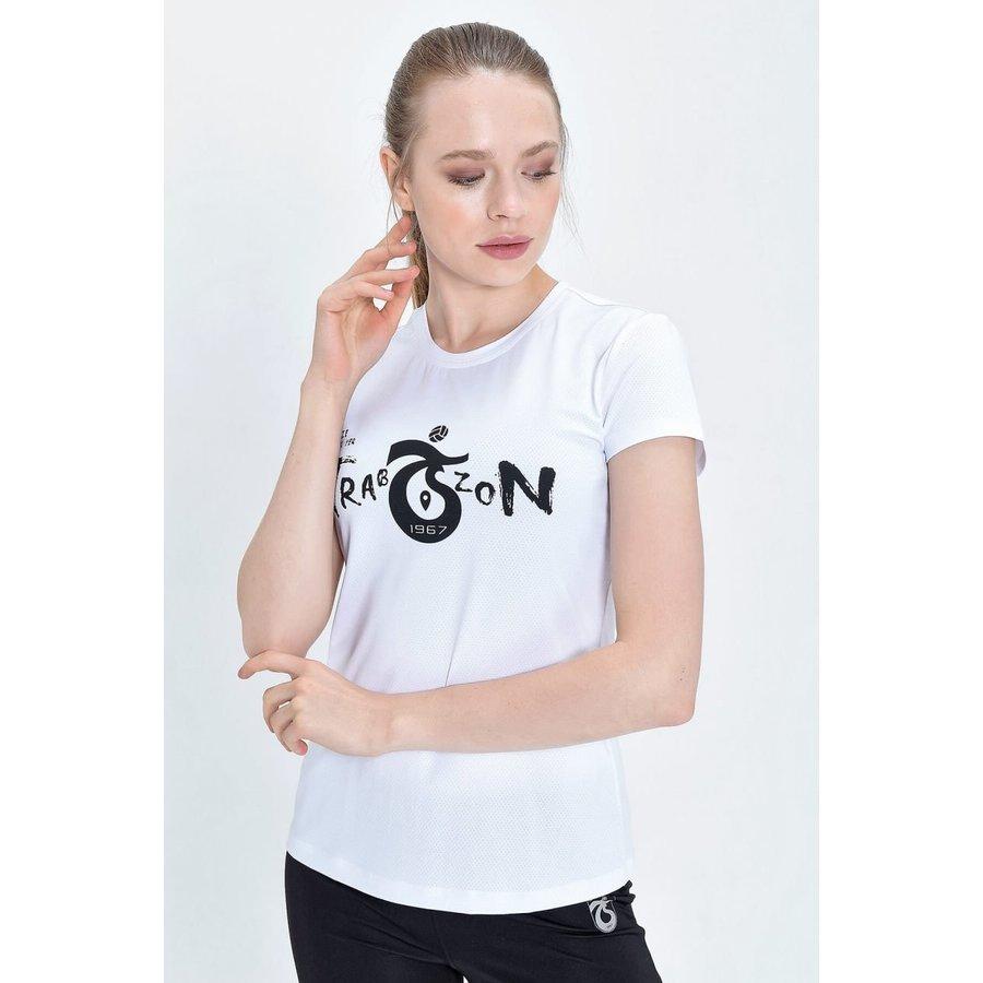 Trabzonspor T-Shirt Damen 'Bize Her Yer Trabzon'