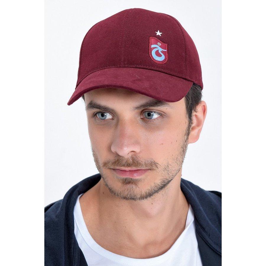 Trabzonspor Kappe TS Logo Bordeauxrot