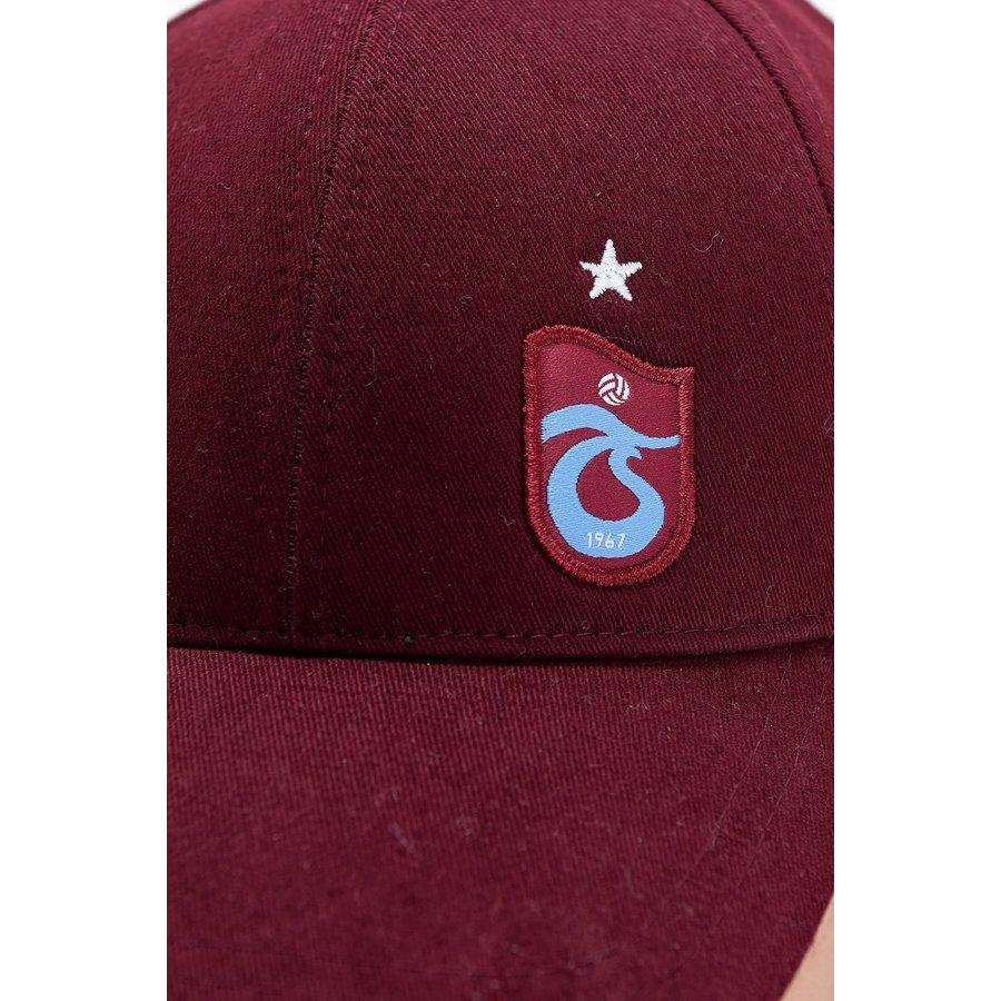 Trabzonspor Cap TS Logo Burgundy