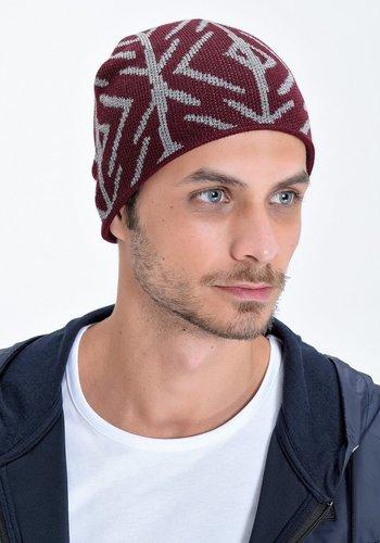 Trabzonspor Bonnet Gris-Bordeaux