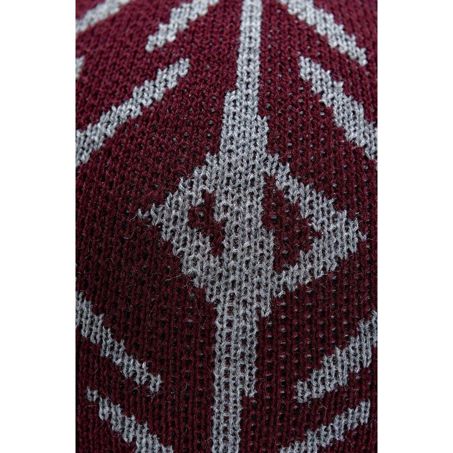 Trabzonspor Mütze Grau-Bordeauxrot