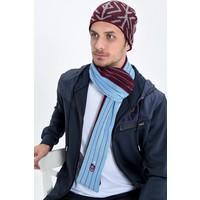 Trabzonspor Sjaal Bordeaux-Blauw