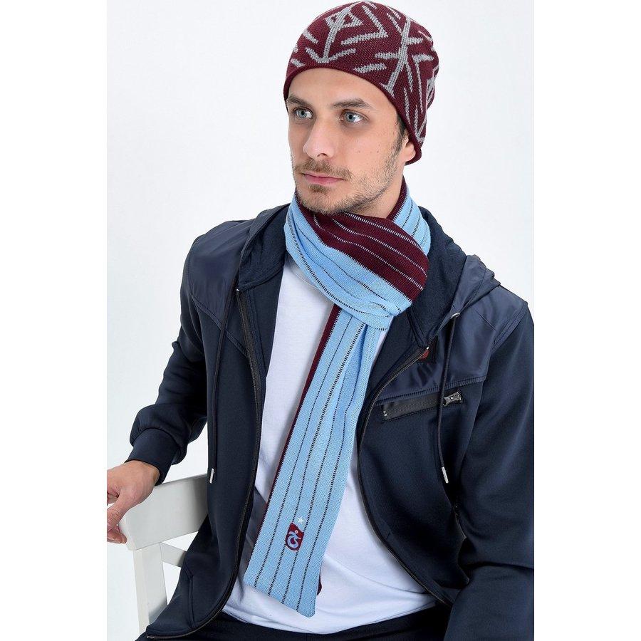 Trabzonspor Schal Bordeauxrot-Blau