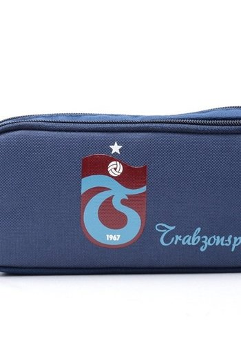 Trabzonspor Pencil Case logo navy blue