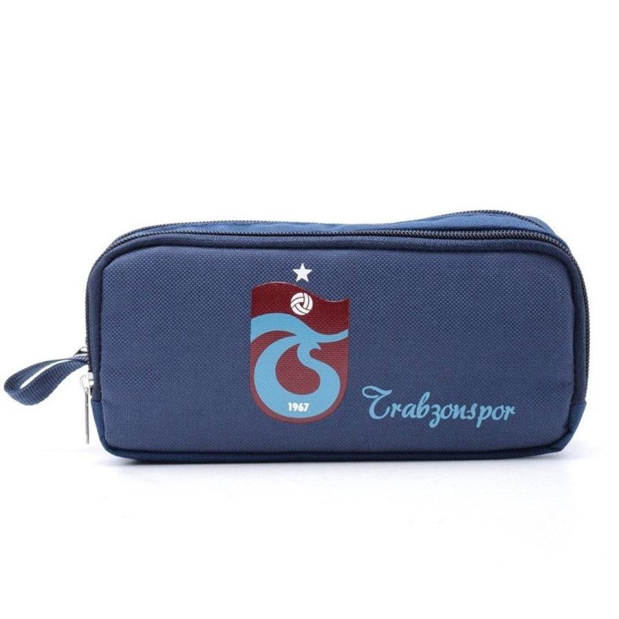 Trabzonspor Pencil Case logo navy blue
