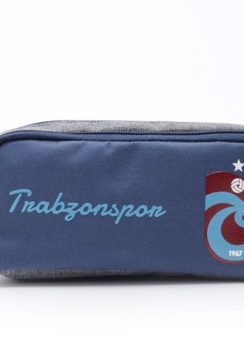 Trabzonspor Pencil Case logo navy blue-grey