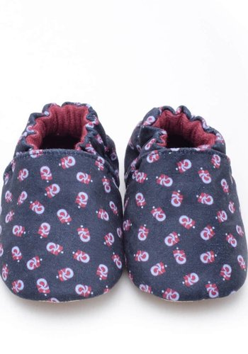 Trabzonspor Baby Booties Logo