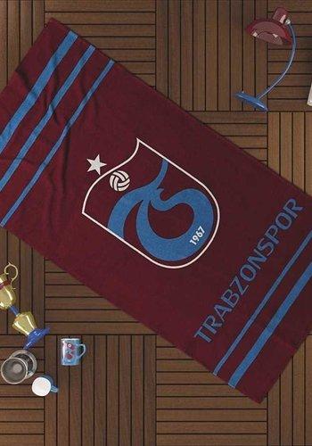 Trabzonspor Blau Line Strandhandtuch