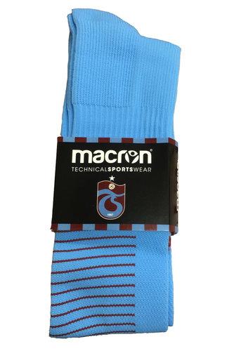 Trabzonspor Macron Blauw Kousen