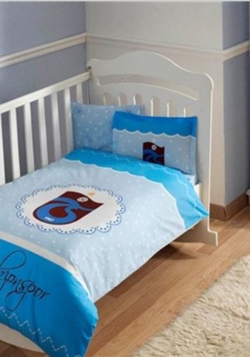 Trabzonspor Taç licensed Bed Clothes Set TS Basic Baby