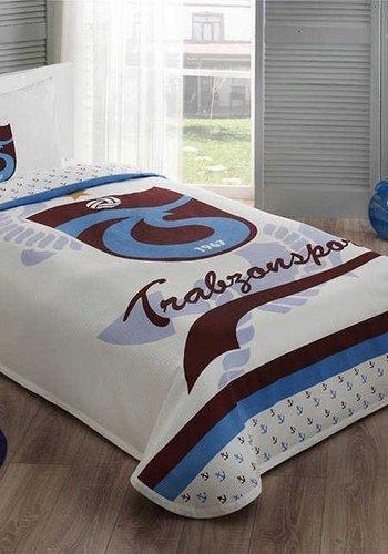 Trabzonspor Taç Lizenziert Deckbettbezug set 'TS Bordo-Mavi'