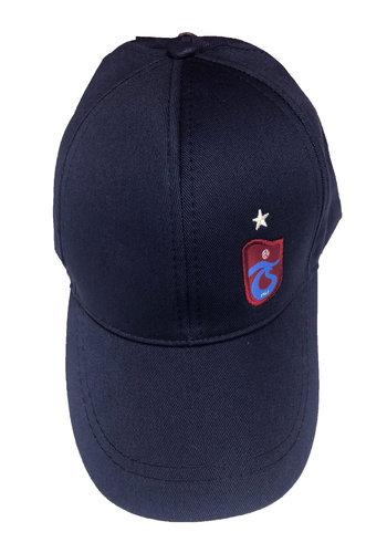 Trabzonspor Cap TS Logo Navy Blue