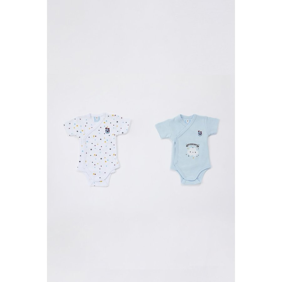 Trabzonspor two-piece Baby body set White-Blue