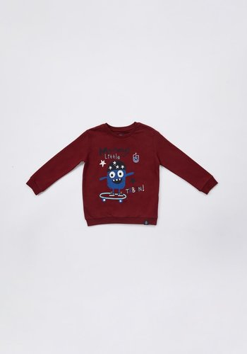 Trabzonspor Sweater Kinder 'TRBZN' Bordeauxrot
