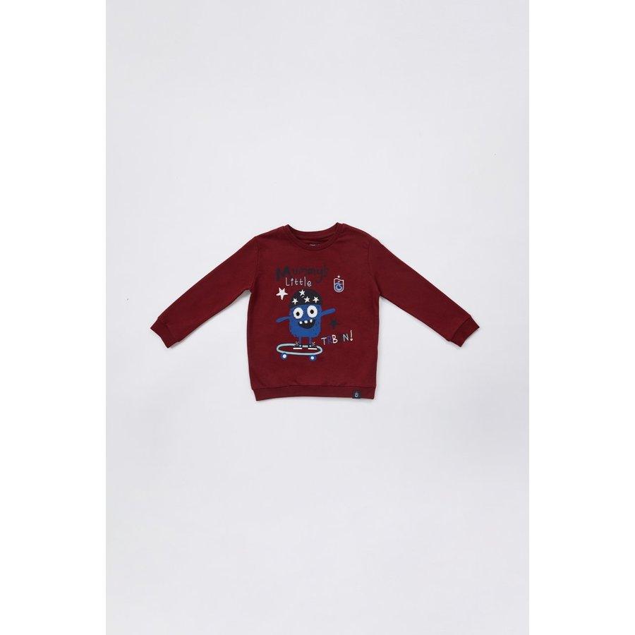 Trabzonspor Sweater Kinderen 'TRBZN' Bordeaux