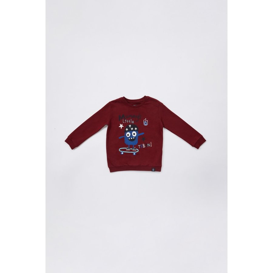 Trabzonspor Sweater 'TRBZN' Pour Enfants Bordeaux