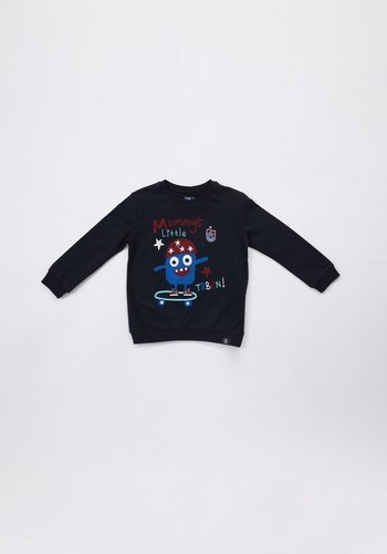 Trabzonspor Sweater 'TRBZN' Pour Enfants Bleu Marin