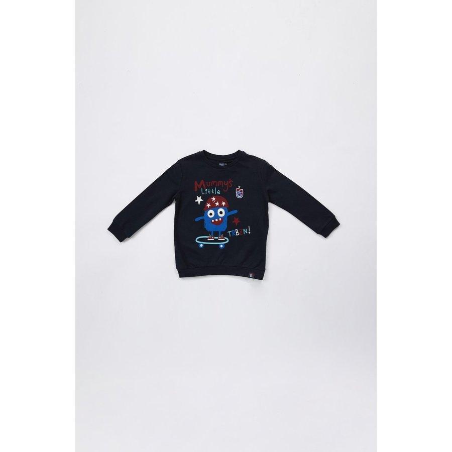 Trabzonspor Sweater Kinderen 'TRBZN' Marineblauw