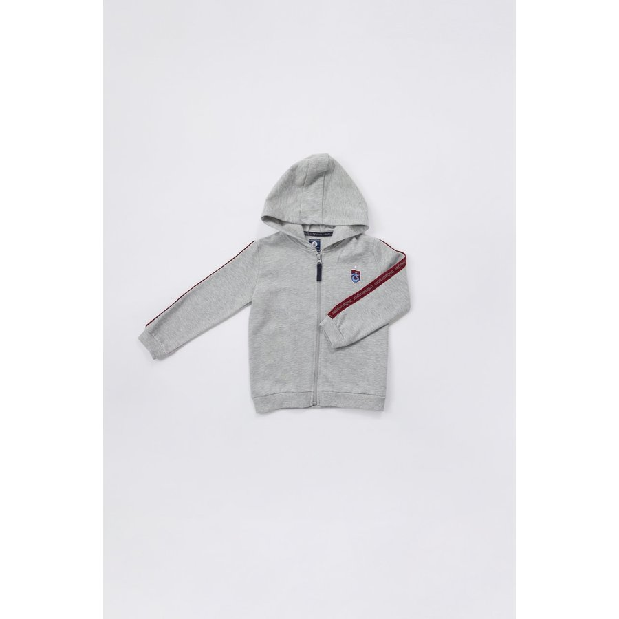 Trabzonspor Kids Hooded Sweater Grey