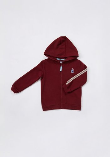 Trabzonspor Kids Hooded Sweater Burgundy