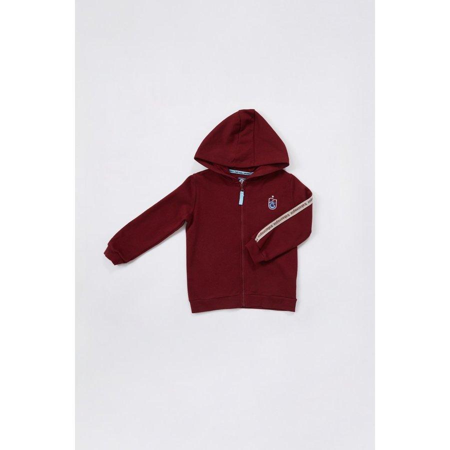 Trabzonspor Kids Hooded Sweater Burgundy
