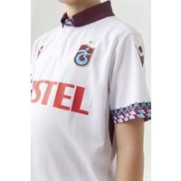 Trabzonspor Macron Shirt Kinderen Wit
