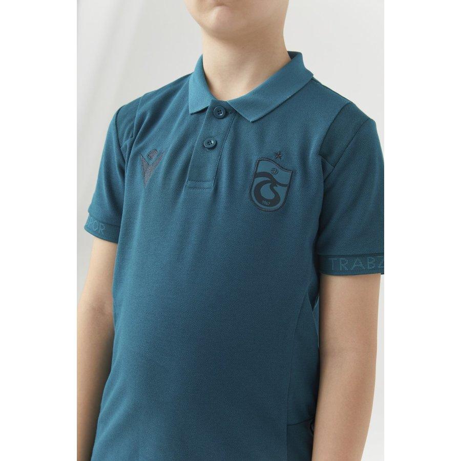 Trabzonspor Macron Training Polo T-Shirt Jeugd
