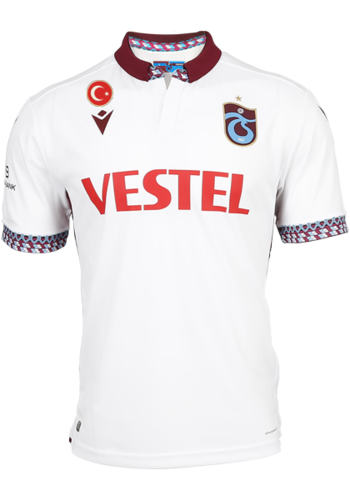 Trabzonspor Macron Shirt Wit