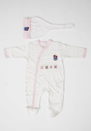 Trabzonspor Baby Romper and Cap Logo