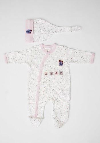 Trabzonspor Babystrampler und Kappe Logo