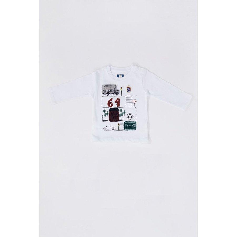 Trabzonspor Baby Sweater White
