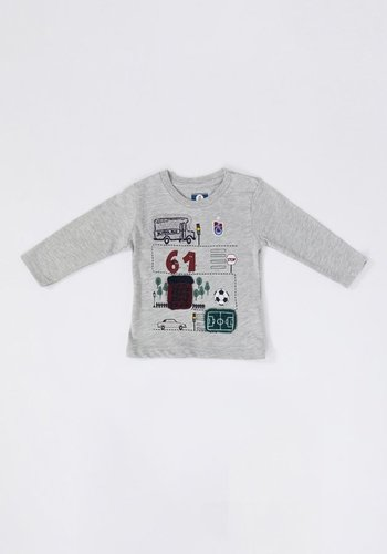 Trabzonspor Baby Sweater Grey