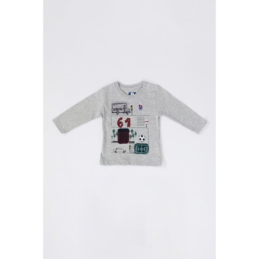 Trabzonspor Baby Sweater Grijs